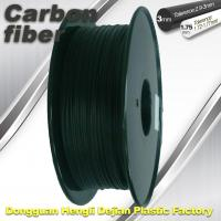 China High Strength Carbon Fibre 3D Printer Filament 1.75 Mm Scrub Black 220°C Melt Print wholesale