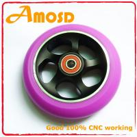 Quality Alloy metal core, PU scooter wheels for sale