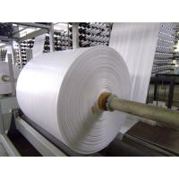 China Fireproof PP Polypropylene Banner Material , Woven Pp Fabric For Latex Or UV Printing wholesale