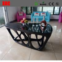 China Black color luxury design living room coffee table wholesale