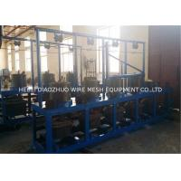 China Galvanized Wire Pulley Type Continous Wire Drawing Machine Energy Saving on sale