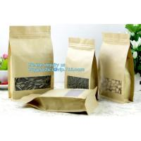 China Custom Printing Recycled Brown Kraft Paper Bags,Custom Printed Factory Glassine Paper Bread Small Brown Bag, bagease on sale