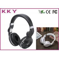 China Around Ear Bluetooth Headphones With TF Card / FM Radio / 3.5mm AUX / LED Display wholesale