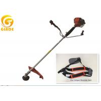 Single cylinder hand held brush cutter straight shaft for Hand held garden shears