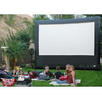 China Portable Inflatable Movie Screen , Customized Size Inflatable Cinema Screen wholesale