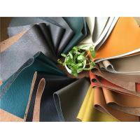 China Composition Leather Upholstery Fabric 1.4-1.6mm Thickness 1.37meters Width wholesale
