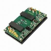"""China DC/DC Converter with 18-36/36-75V DC Input and Output of 1.0 to 12V DC, 40A Max Current, 1/4"""" Brick wholesale"""