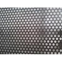China 1x2M Decorative Perforated Sheet Metal Panels PVC Coated Hold Size 0.5-8.0mm wholesale