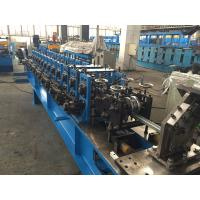 Quality Adjustable C Channel High Speed Roll Forming Machine With Hydraulic Decoiler 2.0mm thickness for sale