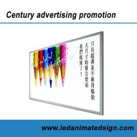 China Silver aluminum frame led advertising light box with CE wholesale