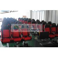 China Movie Motion Theater Chair With Pnuematic Control System For Indoor wholesale
