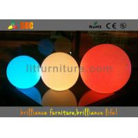 China RGB Waterproof LED Balls Rechargeable Lithium polymer battery wholesale