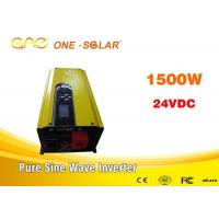 China Off Grid Solar Inverter low frequency pure sine wave UPS dc ac converter 48v 220v 1500w with charger wholesale