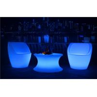 China Commercial LED Nightclub Furniture Infrared Remote Control RGBW LED Light Chair wholesale