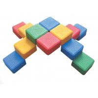 China Toddler Outdoor Plastic Building Blocks Toy in Park H-19202 wholesale