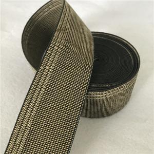 China 100% Polyethylene Plastic Chair Webbing , 40g/M Lawn Chair Webbing Material wholesale