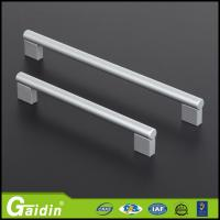 China aluminum furniture hardware cabinet accessory entry glass door pull handles and knobs wholesale