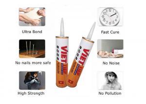 China Skirting Boards Nail Free Glue Brown Adhesive Skirting Board Sealant wholesale