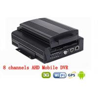 China 8CH Hard Disk H.264 WIFI car dvr vehicle camera video recorder AHD 720P 3G GPS wholesale