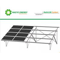 China Resistance Heavy Wind And Snow Greatly Strength Ground  Solar Racking System With Reinforced Metis Rail wholesale