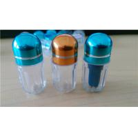 China Male Enhancement Pill Vial Plastic Pill Bottles / Sex Pill Container wholesale