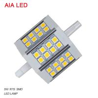 China LED-R7S-8021 AC85-265V 5W 5050 SMD LED R7S LED Lamp/ LED bulb for IP65 waterproof led flood light wholesale
