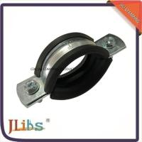 China M8 Nut Pipe Clamp Fittings Metal Pipe Hangers 3 Inch Ventilation Pipe Clamp wholesale