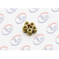 China High Precision Lathe Machining Parts, Small Brass Knurling Inserts wholesale