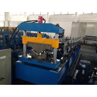China Galvanized Steel Roof Tile Roll Forming Machine Guide Pillar Structure 0.25 - 0.6mm wholesale