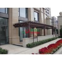 China Durable Fire Resistance Wall Mounted Pergola Rotproof Split Resistance No Cracking wholesale