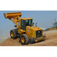 China High Reliability Mining Wheel Loader , Wheel Loader Excavator Stability wholesale