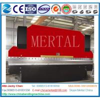 China Metal Plate Atuomaitic CNC Press Brake Machinery High Efficiency and High Precision on sale