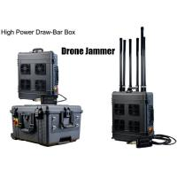 China Draw - Bar Box Drone Signal Jammer Portable With 360 Watts , 1000m Jamming Range wholesale