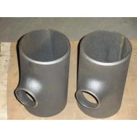 China Sand blasting Reducing tee Pipe Fitting seamless pipe fitting tee wholesale