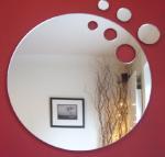 China High Quality Creative Shape Acrylic Mirror Sheets wholesale