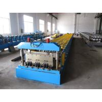 China 0.8-1.5mm Thickness Steel Floor Decking Forming Machine With High Strengthen Power wholesale