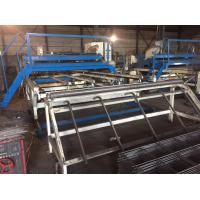China Customized 3.2 Meter Width Welded Mesh Machine 30 - 50 Times Per Minute wholesale