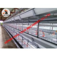 China Myanmar Poultry Farming Battery H Frame Battery Chicken Cage & Automatic Broiler Cage with Automatic Feeding Machine wholesale