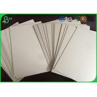 China Chemical Pulp Raw Material Grey Board Sheets , 1.5mm Cardboard Wrapping Paper on sale