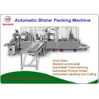 China Fully Automatic Blister Packing Machine PLC Control New Condition Servo Motor Driven wholesale