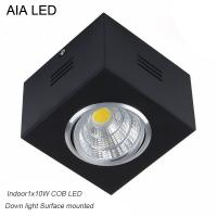 China IP42 black indoor surface COB 10W Ceiling down light&LED Grille light wholesale