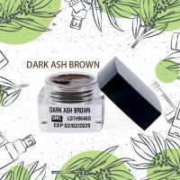 China Semi Permanent Makeup Pigment Dark Ash Brown For Darker / Yellow Skinned People wholesale