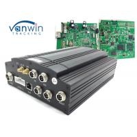 China 1T HDD Car Mobile DVR UPS Tracking 3G Vehicle CCTV 4 Channel Alarm System VW605 wholesale