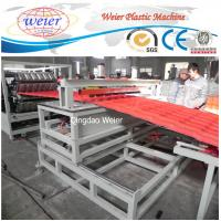 China pet roofing corrugated pvc roof tile composite roof tiles machinery wholesale