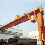 China Semi Workshop Gantry Crane Electric hoist 10ton Half 4 Meters High Light Duty wholesale