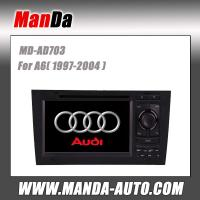 China 2 din car stereo for Audi A6 (1997-2004) car multimedia system satellite gps in-dash dvd on sale