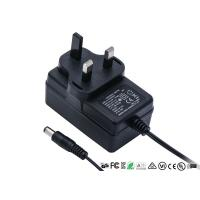 China 12V 2A AC DC Power Adapter UK 3pin Plug In Wall Mount Power Supply With CE GS TUV wholesale