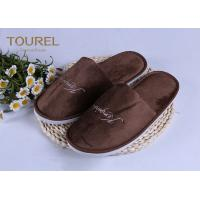China 100% Cotton Disposable Luxury Hotel Slippers Star Hotel Guest Slippers wholesale