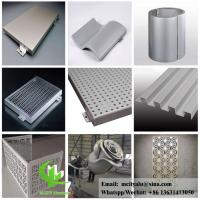 China perforated aluminum sheet for facade wall cladding panel exterior building cover for building or ceiling wholesale