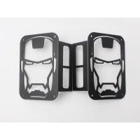 China Iron Man Taillight cover for jeep wrangler JK 07+ taillamp cover offroad accessories wholesale